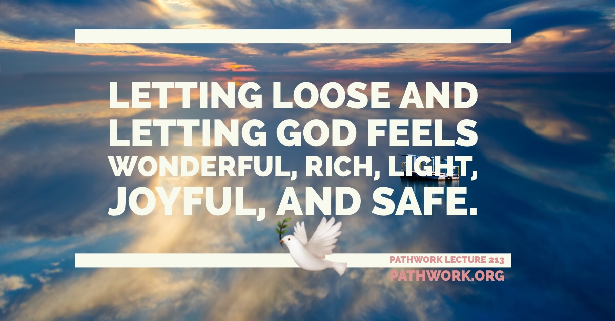 "The Spiritual and the Practical Meaning of ""Let Go, Let God"""